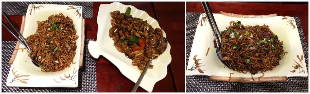 Old Hong Kong nūdeles un vistas gaļa