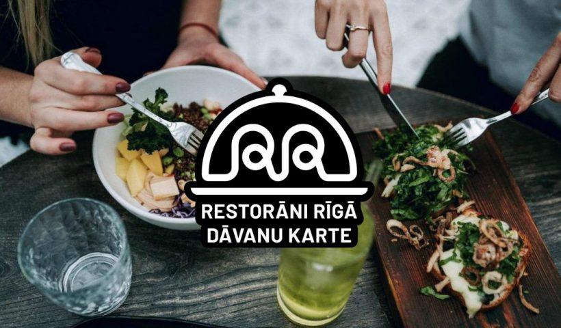 Restorāni Rīgā dāvanu karte